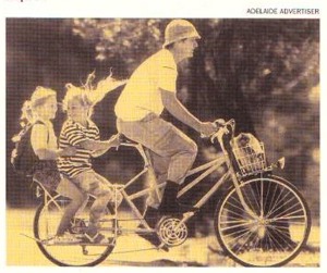The Adelaide Long Bike, Adelaide Advertiser, 1996.