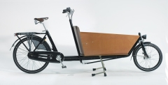 The Dutch Bakfiets or 'Box Bike'.