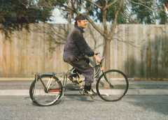 A New Morning - Bicycle Bruce and #1, the Prototype ALB.