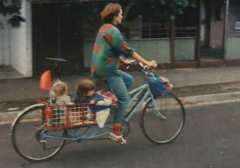 'Ho Chi Minh' With Rear Straddle Basket (and happy children)