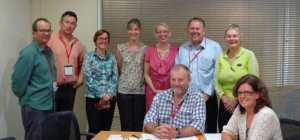 Port Adelaide & Charles Sturt BUG reps meet with Mayors Alexander & Johanson and staff.