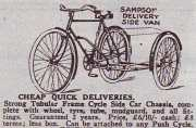 Sampsons 'Delivery Side Van', 1935.