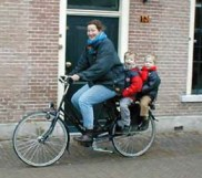 Dutch 'tweelingfiets' or 'Twin Bike'.