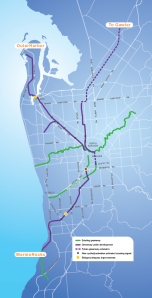 DPTI's New Greenway Network Map