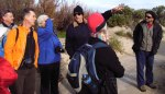 Port BUG meets with dune-care groups at Tennyson.