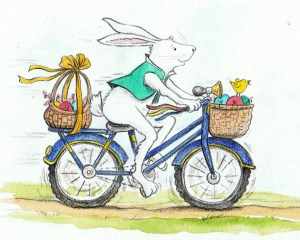 bicycle bunny