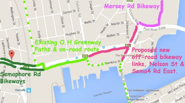 proposed nelson st links