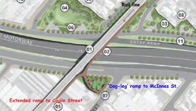 Overpass + dog leg